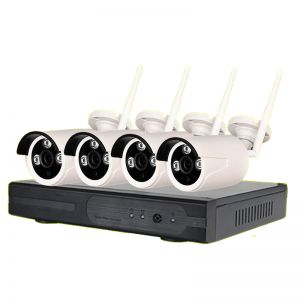 Wireless CCTV System (4 Cameras) (System + Installation)