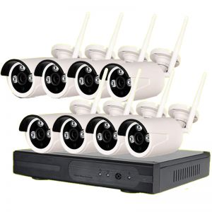 Wireless CCTV System (8 Cameras) (System + Installation)