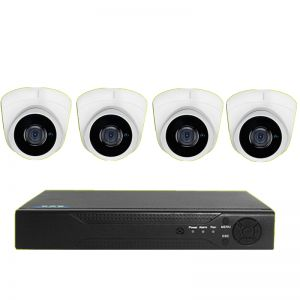 Cable Network CCTV System (4 Cameras) (System + Installation)