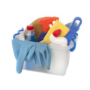 Basic Home / Office Cleaning Service (2 crews, 4 hours, cleaning detergents & tools included)