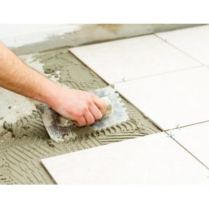 Indoor / Outdoor Floor Tiling & Wall Tiling Installation Service (Inclusive thinset / tile adhesive)